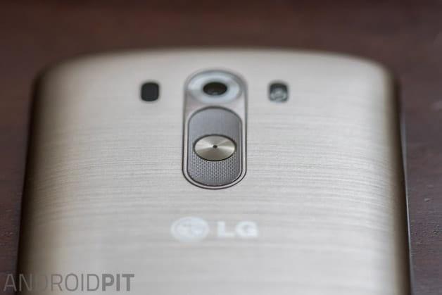 Botonera parte de atrás LG G3