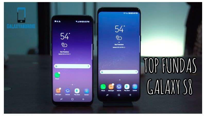 TOP fundas para el Galaxy S8 2017