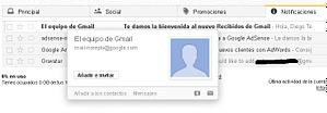 Correo admin Gmail