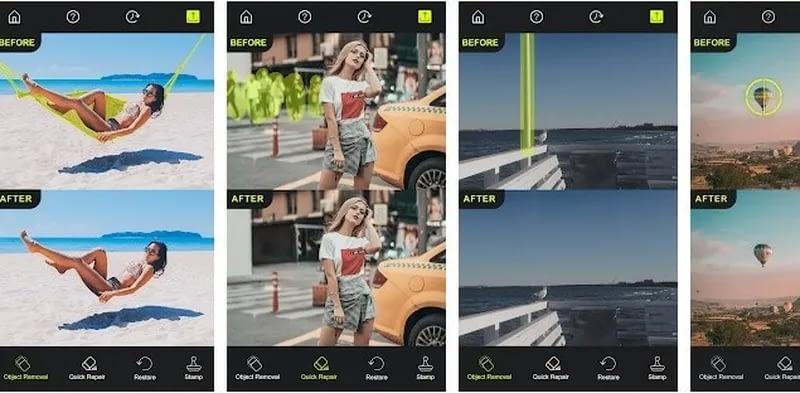 Photo Retouch AI Eliminar objetos de las fotos Aplicaciones en Google Play 1