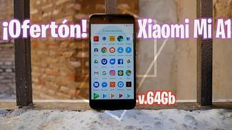 Xiaomi Mi A1 v64Gb menos de 180 euros