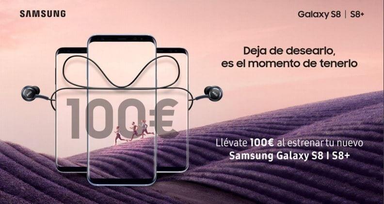 Promoción 100 euros de reembolso Samsung