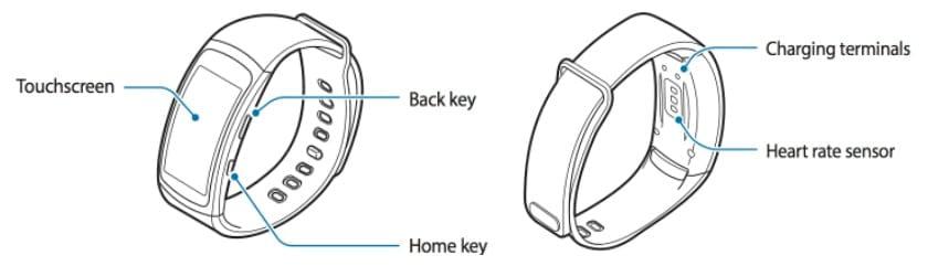 Leak Samsung Gear Fit 2 diseño